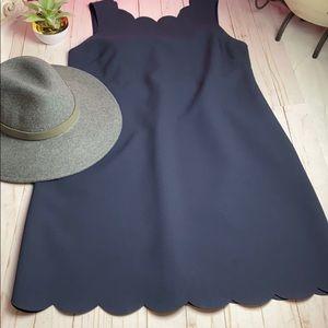 Beautiful JCREW NAVY DRESS SZ 14
